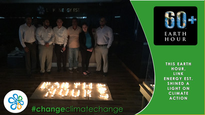 This Earth Hour 2017, Link Energy Est. Shined a Light on Climate Action