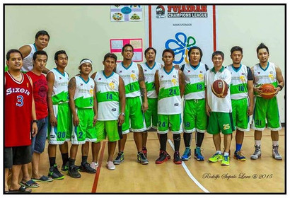 Major Sponsor: Fujairah Filipino Community Basketball League.
