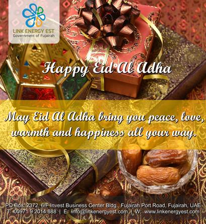 Link Energy Est.,  Wishing You EID AL ADHA