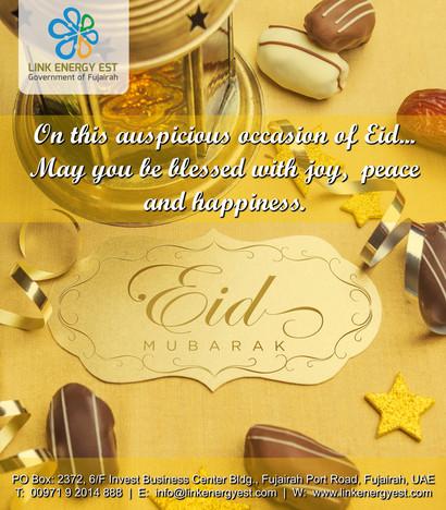 Wishing you EID MUBARAK!