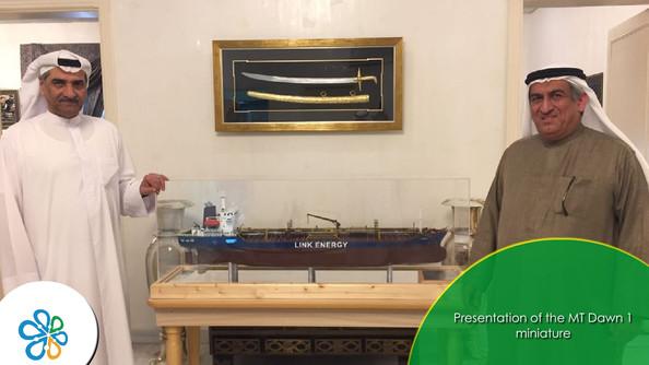 HH Shiekh Hamad bin Mohammed Al Sharqi and Mr. Ahmed Abdullah Shukralla Al Dhanhani