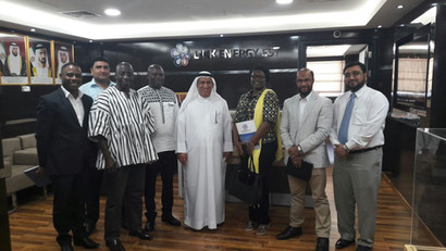 Link Energy Est., and Consulate General of the Republic of Ghana - Dubai Business meeting.