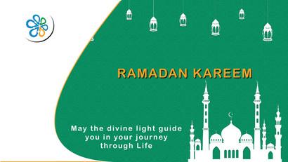 A Blessed Ramadan Kareem!