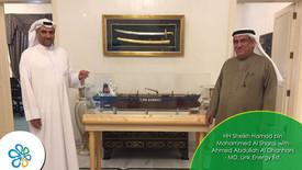 Presentation of MT Dawn 1 miniature vessel