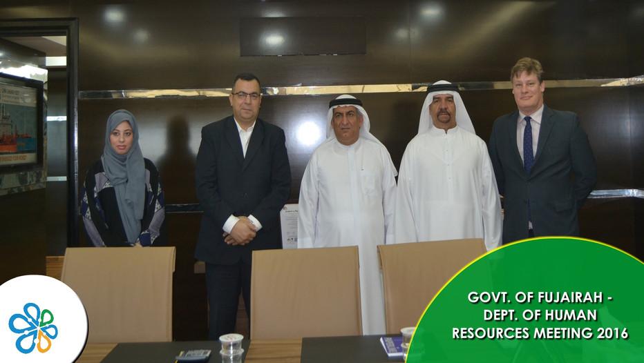 Govt. of Fujairah - Human Resources Meeting 2016