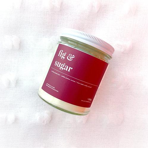 Fig & Sugar Soy Candle