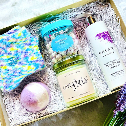 Congrats & Relax Package