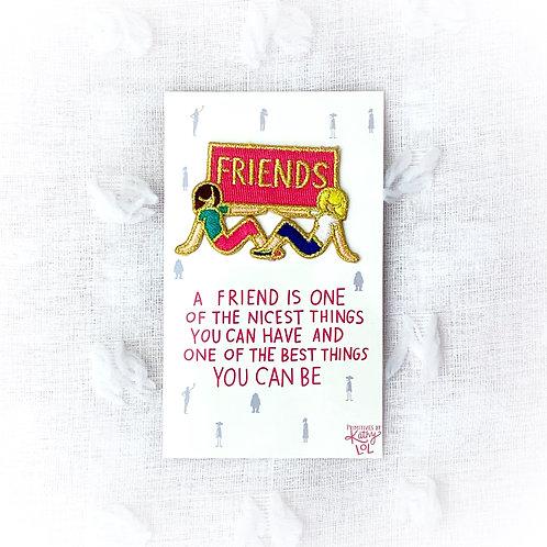"""""""Friends"""" Patch"""