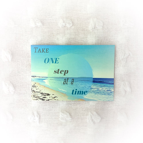 """One Step at a Time"" Artwork"