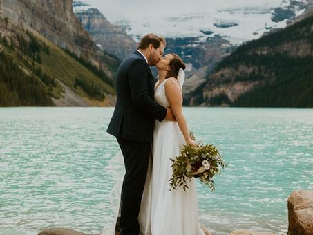 Mountain Wedding at Lake Louise • Stephanie & Greg