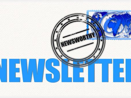 Newsletter #1 - 7 February 2020