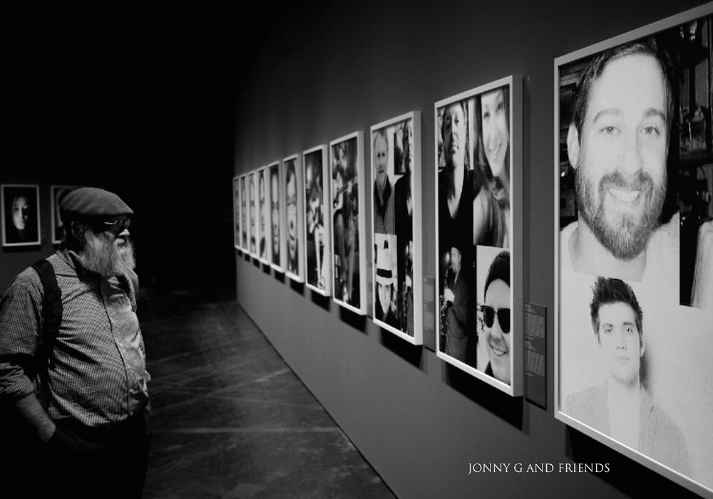 jonny g and friends b & w art gallery