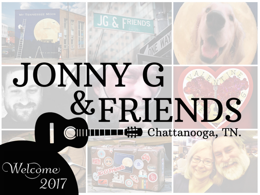 Welcome to our new website Jonny G & Friends