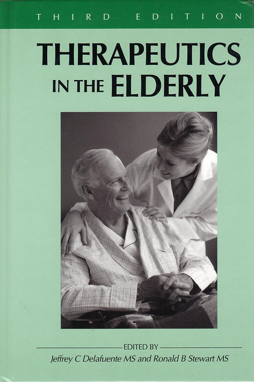 Therapeutics in the Elderly, 3rd Edition