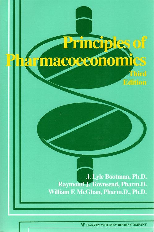 Principles of Pharmacoeconomics, 3rd Ed.