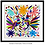 Thumbnail: ROOSTERS Embroidered  Otomi Wallhanging