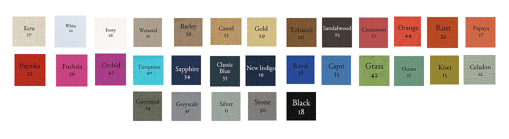Custom Pillow Color Options