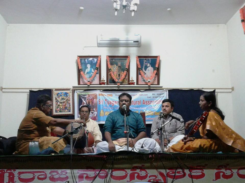 Dr. Nagendra Shastry at Sri Tyagaraja Cultural Association