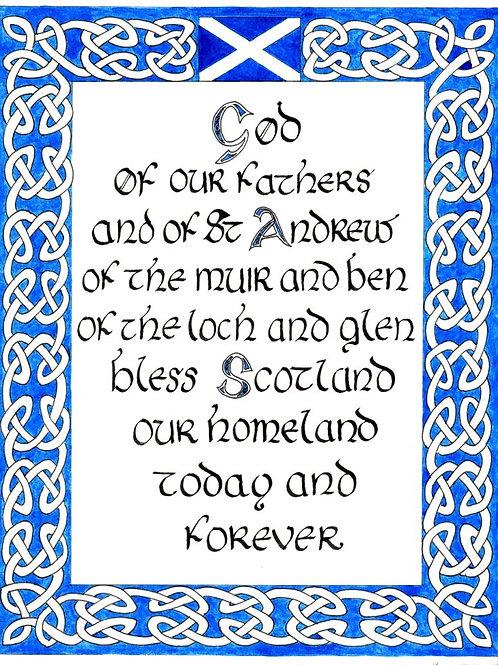 Prayer for Scotland