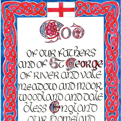St George's Day Blessing
