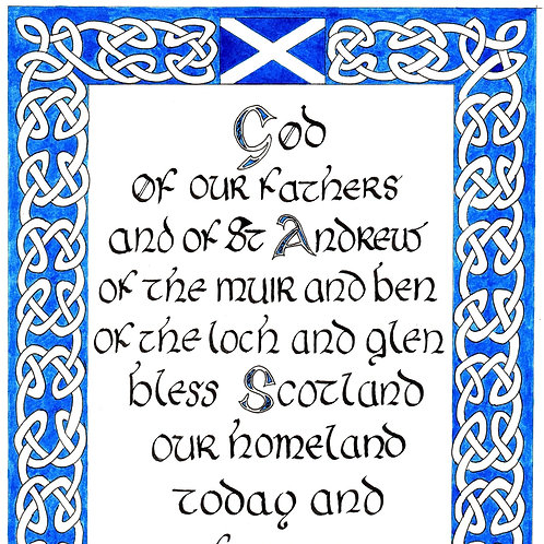 St Andrew's Day Blessing