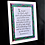Thumbnail: 'Trust'. Framed Celtic Print of Proverbs 3: 5-6 available in two sizes