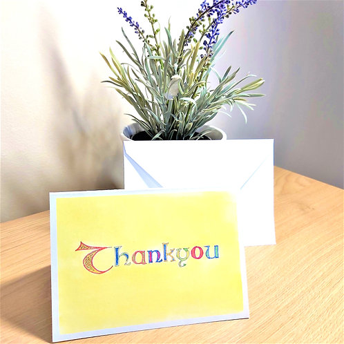 Celtic Thank you Card