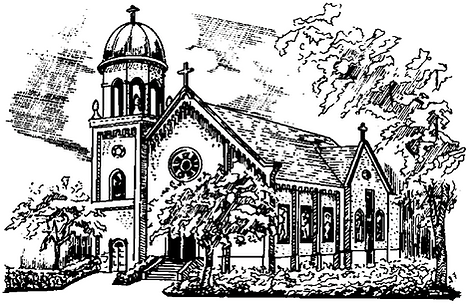 Drawing of the church