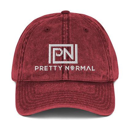Pretty Normal Vintage Cotton Twill Cap