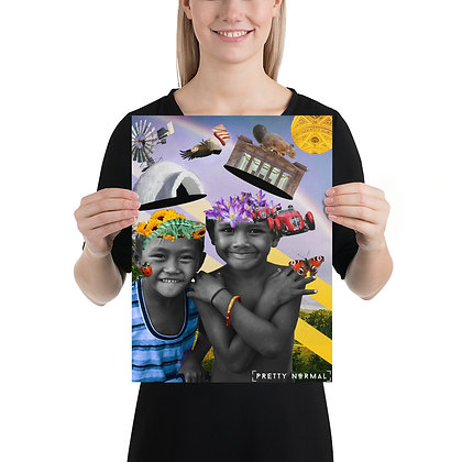 (11x14) Childs Imagination Collage Poster