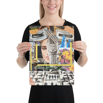 (11x14) Hypothesis Collage Poster