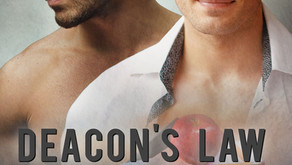 Deacon's Law (Heroes #3) by RJ Scott Review & Giveaway!!