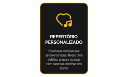 3 REPERTÓRIO PERSONALIZADO