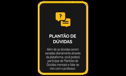 6 PLANTÃO DE DÚVIDAS