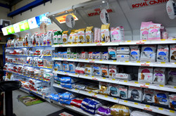 Science Diet and Royal Canin