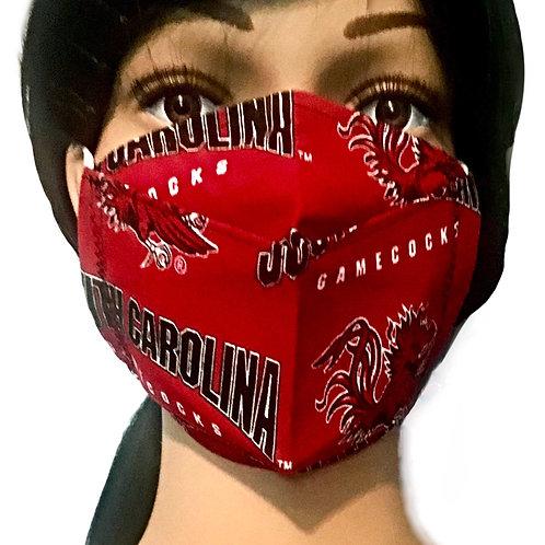 The University of South Carolina Gamecock Face Mask