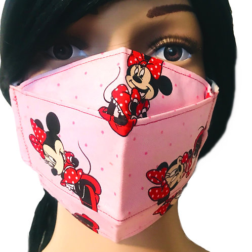 The Minnie Mouse Face Mask