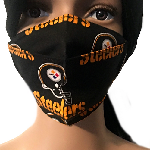 The Pittsburgh Steelers Face Mask