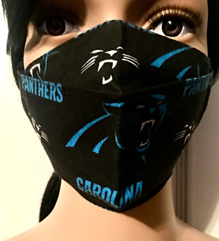 Carolina Panthers Logo Face Mask