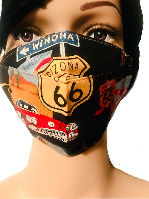 The Route 66 Face Mask