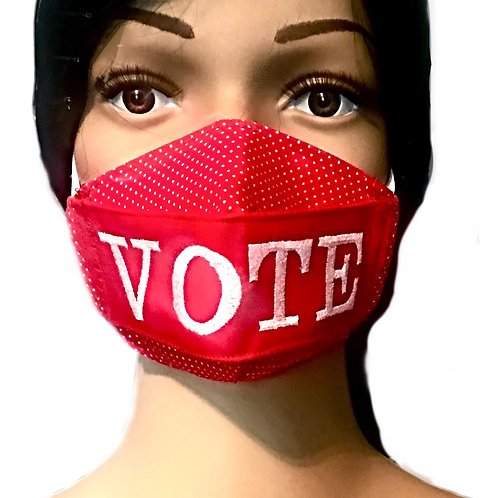 The Vote Face Mask
