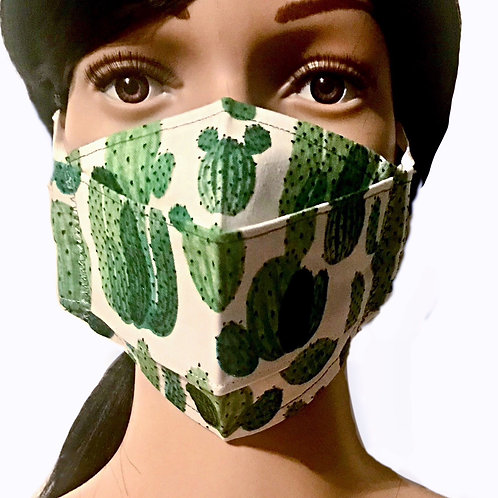 The Cacti Face Mask