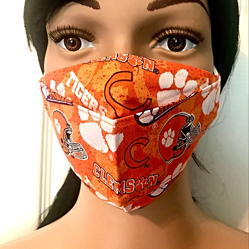 The Clemson Face Mask