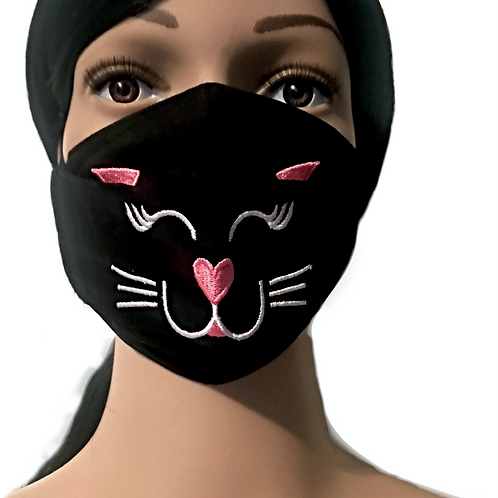The Cat Face Mask