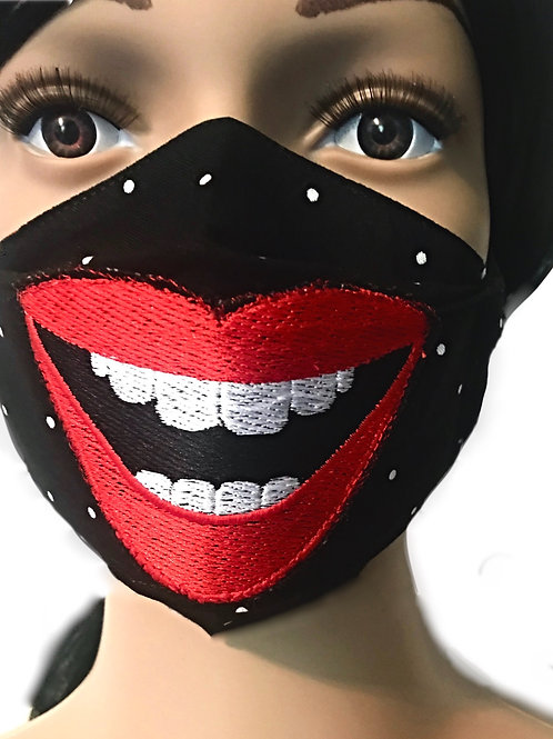 The Smiling Mouth Face Mask