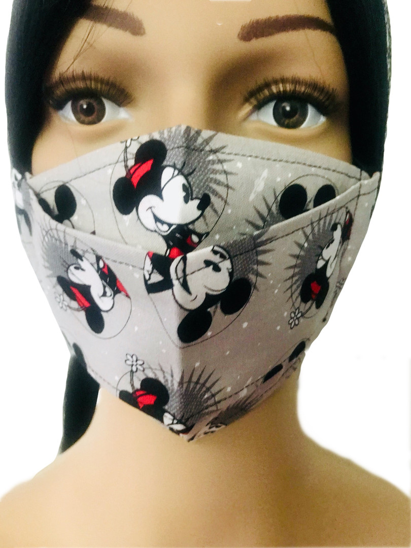 The Minnie and Mickey Face Mask