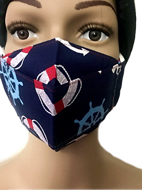 The Nautical Face Mask