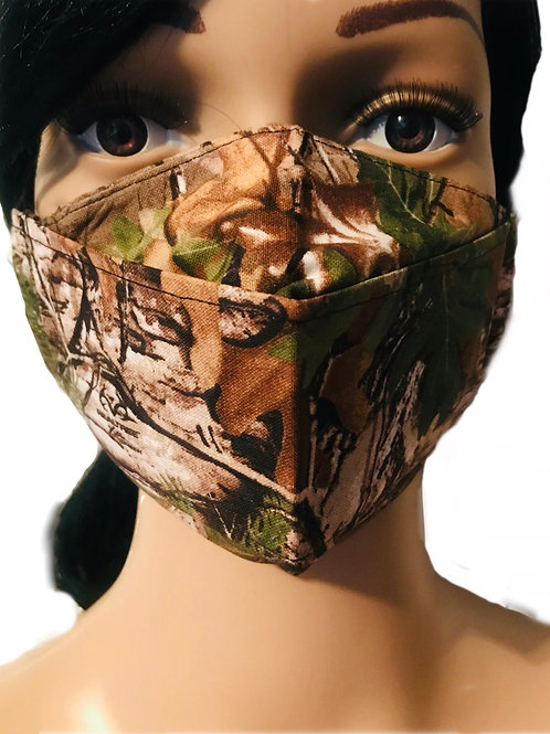 The Forest Camo Face Mask