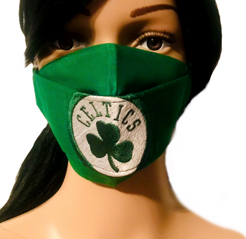 The Boston Celtics Face Mask