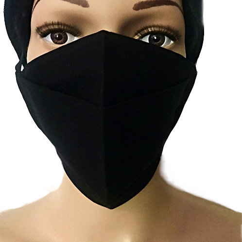 The Black Face Mask